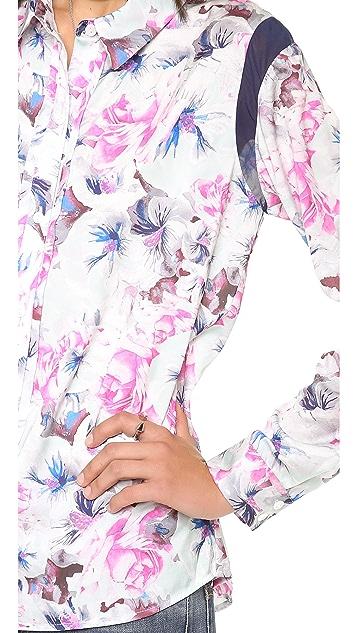 Pencey Karolina Floral Wedge Blouse
