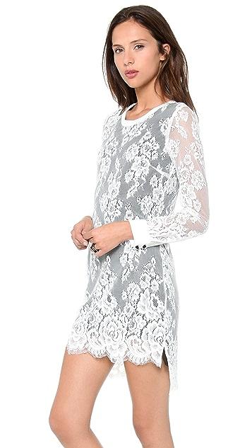 Pencey Lace Shift Dress