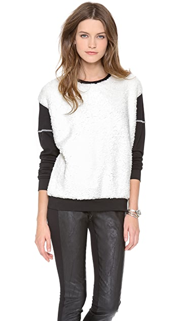 Pencey Fur Front Sweatshirt