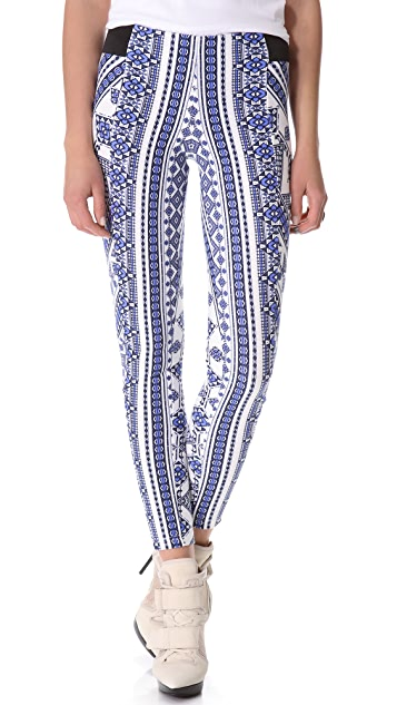 Pencey Geo Printed Leggings