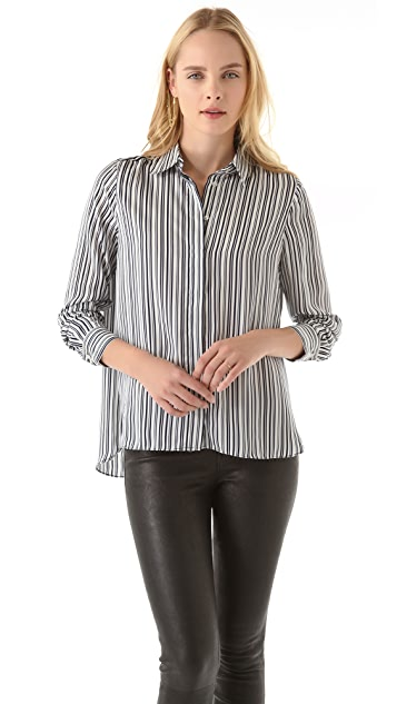 Pencey Standard Hi Low Blouse by Jessica Hart for Pencey Standard