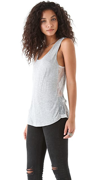 Pencey Standard Lace Inset Football Tank