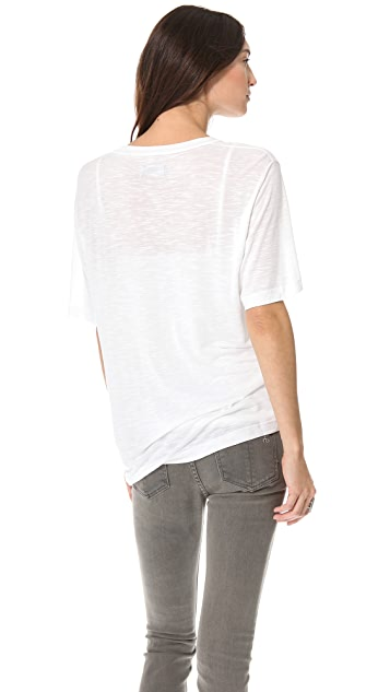 Pencey Standard Baggy V Neck Tee