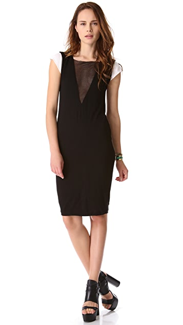 Pencey Standard Deep V Dress