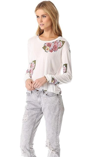 Pencey Standard Floral Long Sleeve Tee