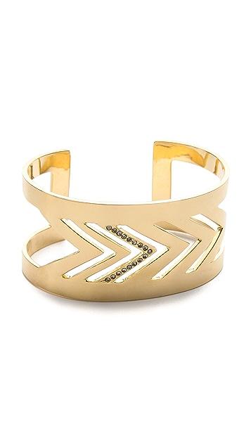 Paige Novick Arrow Motif Cuff Bracelet