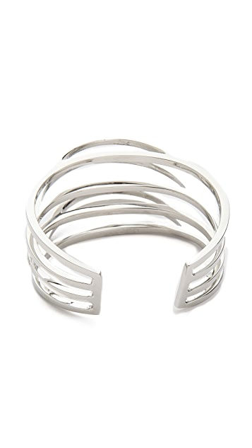 Paige Novick Lina Collection Elliptical Cuff with Crystals