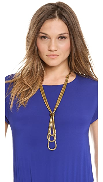Paige Novick Isabelle Collection Mutli Snake Chain Necklace