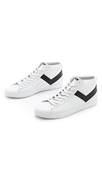 PONY Topstar High Top Sneakers