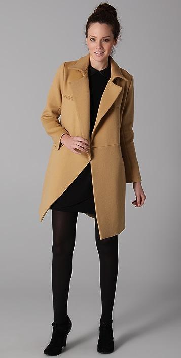 Porter Grey Menswear Coat