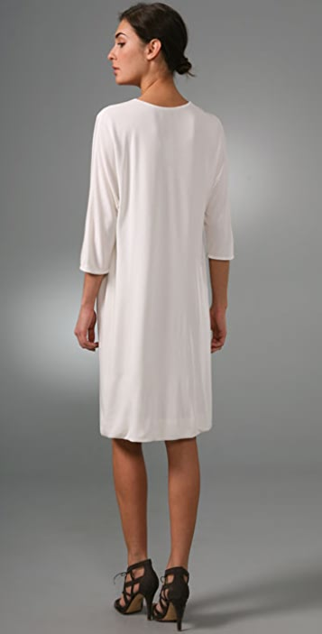 Ports 1961 Cowl Neck Sheath Dress