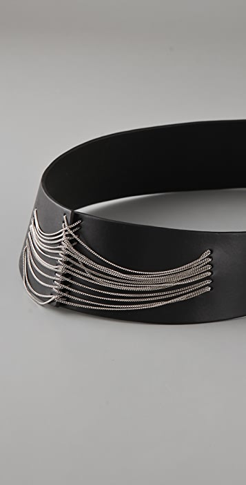 Ports 1961 Chain Embellished Belt