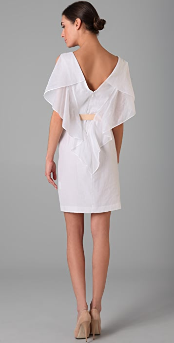 Ports 1961 Cloak Dress with Vachetta Belt