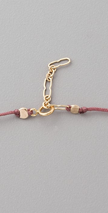 Poupette nyc Teeth Anklet