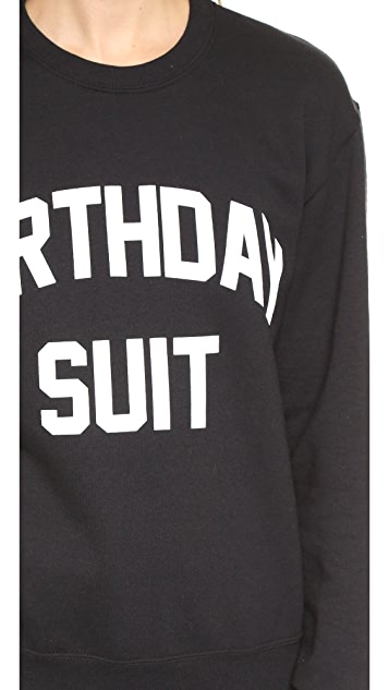 Private Party Birthday Suit Sweatshirt