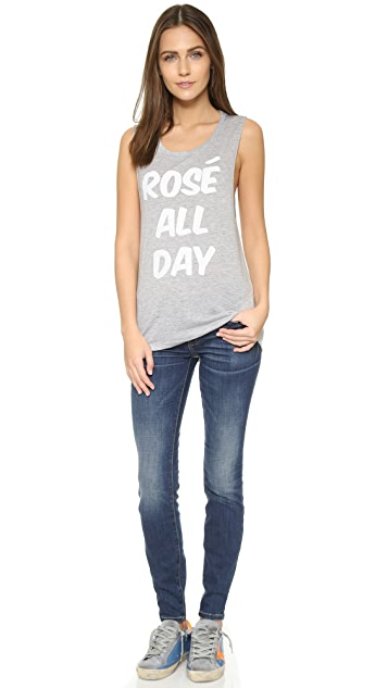 Private Party Rose All Day Tank