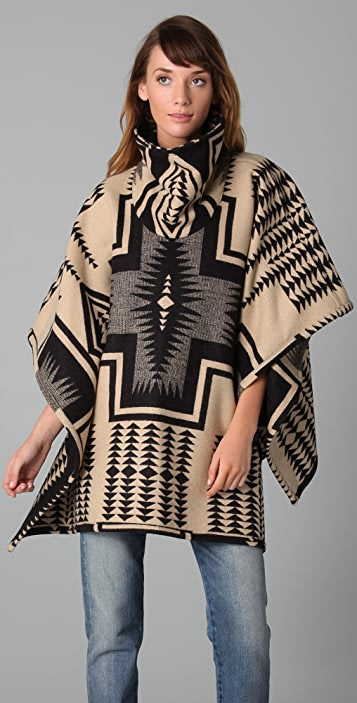 Pendleton, The Portland Collection Reversible Cape