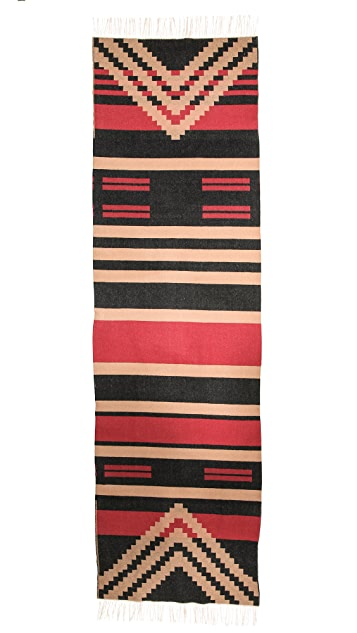 Pendleton, The Portland Collection Patterned Fringed Scarf