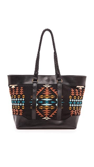 Pendleton, The Portland Collection Braided Tote