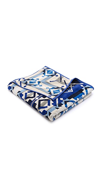 Pendleton, The Portland Collection Star Wheels Towel