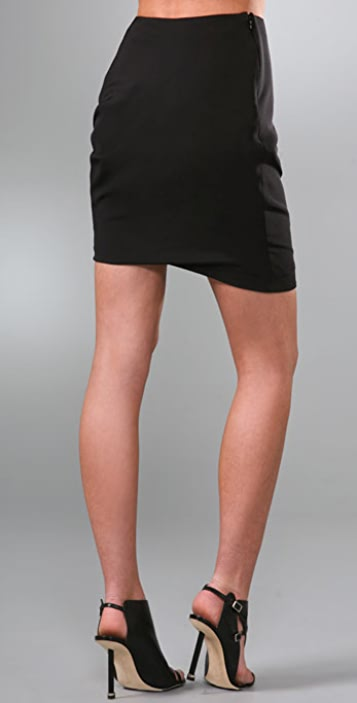Prabal Gurung Side Ruched Skirt
