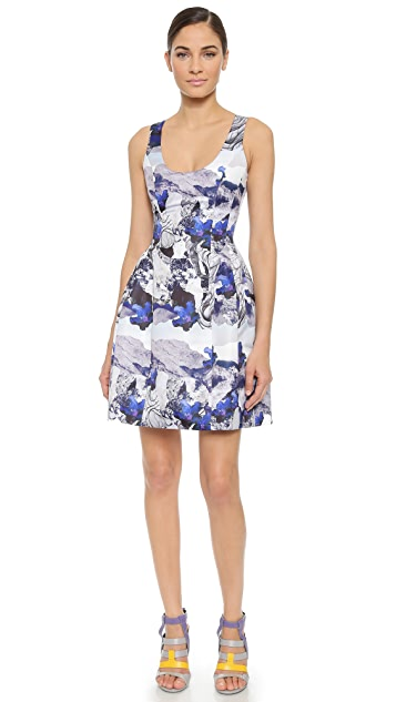 Prabal Gurung Molded Seam Dress