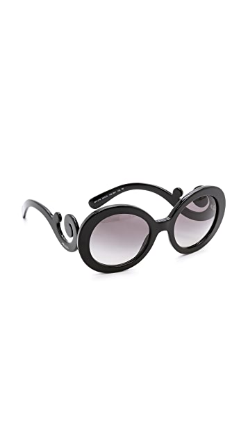 0b950178bb6 Prada Round Sunglasses