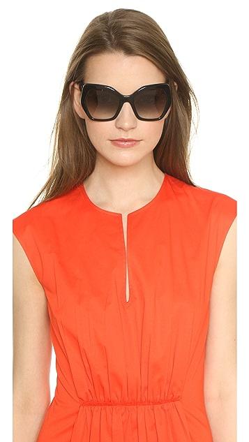 Prada Geometric Sunglasses