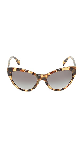 Prada Cat Eye Sunglasses