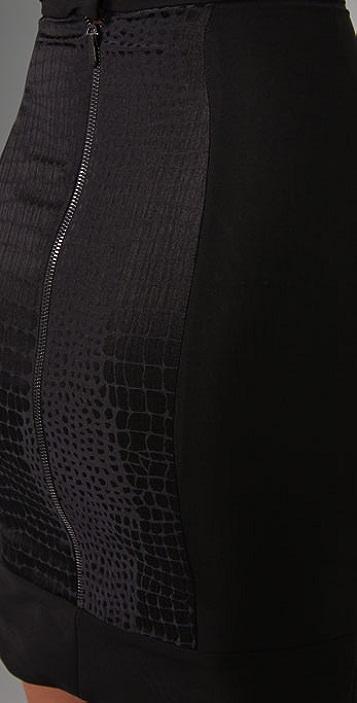 Preen By Thornton Bregazzi Raven Skirt