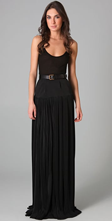 Preen By Thornton Bregazzi Western Long Skirt
