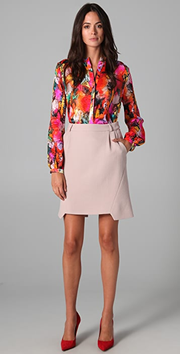 Preen By Thornton Bregazzi Frost Skirt