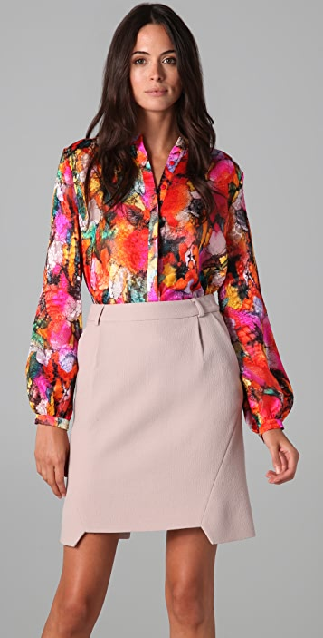 Preen By Thornton Bregazzi Sunset Blouse