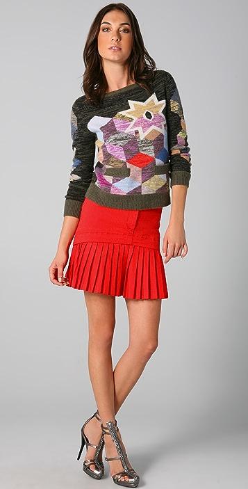 Preen By Thornton Bregazzi Cashmere Cube Sweater
