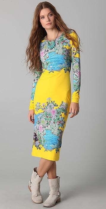 Preen By Thornton Bregazzi Scuba Midi Dress