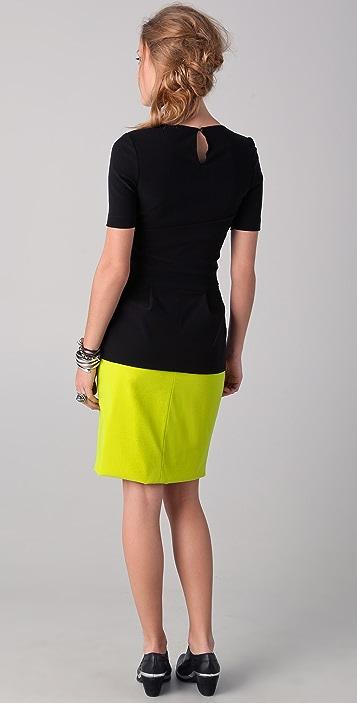 Preen By Thornton Bregazzi Blaze Dress with Citrus Skirt
