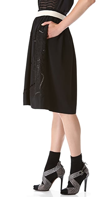 Preen By Thornton Bregazzi Talon Skirt