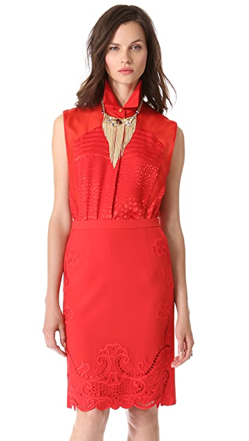 Preen By Thornton Bregazzi Harley Sleeveless Blouse