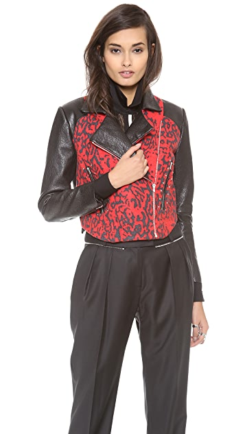 Preen By Thornton Bregazzi Lyric Biker Jacket