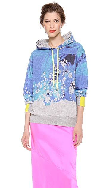Preen By Thornton Bregazzi Splash Hoodie Sweatshirt