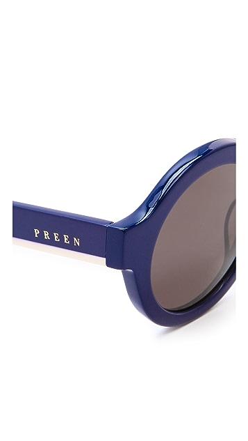 Preen By Thornton Bregazzi Big Ben Sunglasses