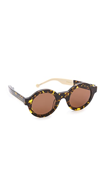 Preen By Thornton Bregazzi Big Ben Sunglasses