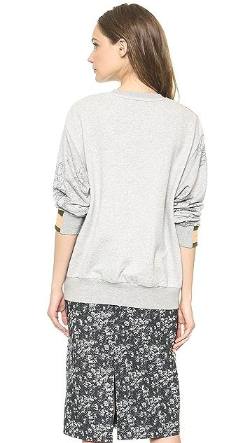 Preen By Thornton Bregazzi Tile Sweatshirt