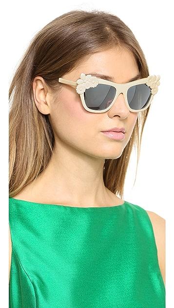 Preen By Thornton Bregazzi Bouquet Sunglasses