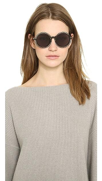 Preen By Thornton Bregazzi Chantilly Sunglasses