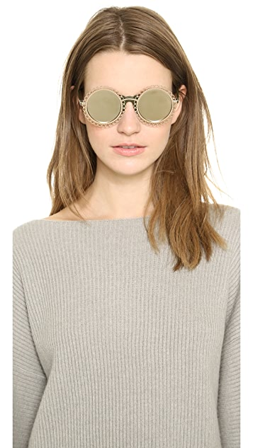 Preen By Thornton Bregazzi Chantilly Sunglasses