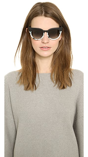 Preen By Thornton Bregazzi Dutchess Sunglasses