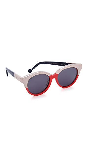 Preen By Thornton Bregazzi Bristol Sunglasses