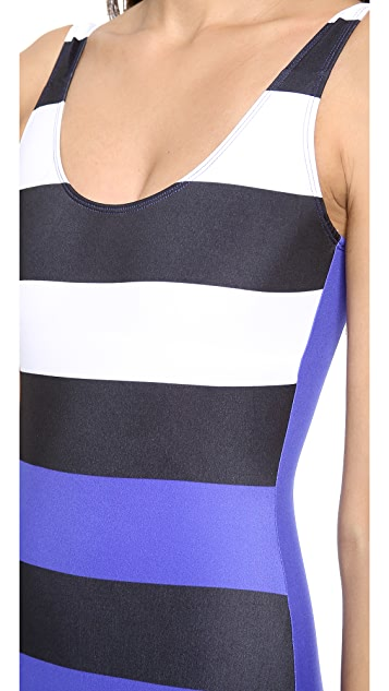 Pret-a-Surf Colorblock One Piece Swimsuit