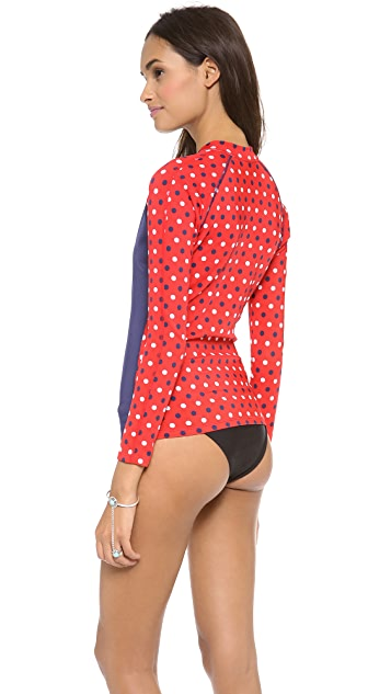 Pret-a-Surf Long Sleeve Rashguard with Front Zip